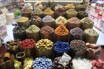 Spices in Dubai Spice Souk (Market)
