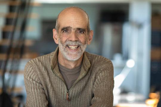 Portrait of senior male