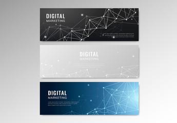 Digital Marketing Banner Layouts