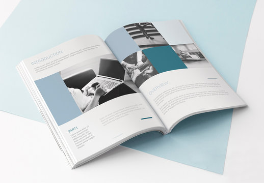 Business Annual Report Layout