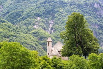 Church of Thethi in Albania