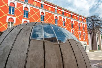 Bunker in the Center of Tirana, Albania