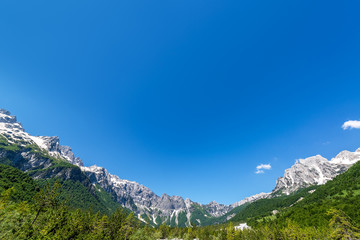 Albanian Alps Landscape