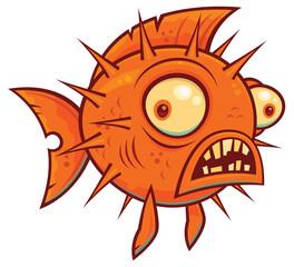 Wacky Cartoon Blowfish