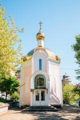 Chapel of St. Tatiana in Vladivostok, Russia