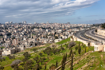 Jerusalem seen from Mount Scopus