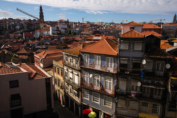 View of old downtown, Porto - Portugal.