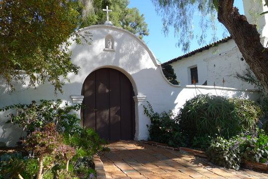 Gate of Mission Basilica San Diego de Alcala