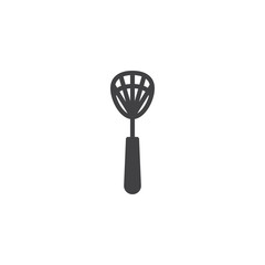 Fly swatter vector icon. filled flat sign for mobile concept and web design. Insects swatter simple solid icon. Symbol, logo illustration. Pixel perfect vector graphics