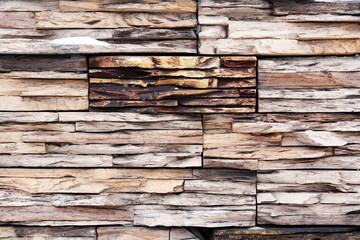 Conceptual Wooden Wall