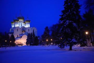 Russian Church At Night