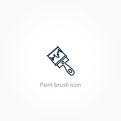 Paint brush icon