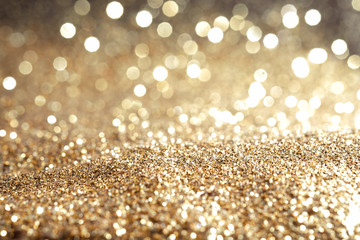 Metal gold dust sand glitter abstract