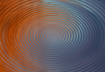 Red and blue spiral whirlpool