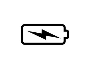 battery icon illustration idesign