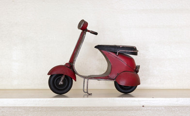 Photo Blinds Scooter Retro scooter isolated