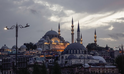 Ancient mosque in Istanbul, Turkey