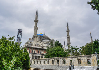 Part of Sultan Ahmed Mosque