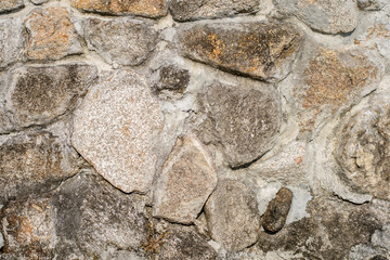 Close up stone wall for background.
