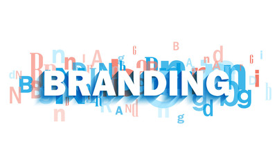 BRANDING colorful typography banner