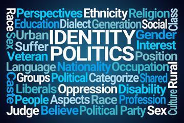 Identity Politics Word Cloud