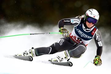 Alpine Skiing - FIS Alpine World Ski Championships - Women's Downhill Training