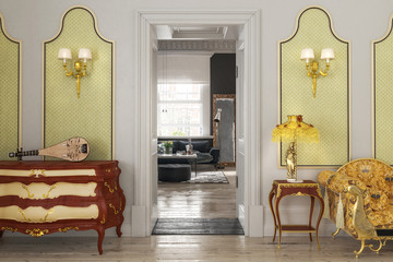 Luxury Suite - 3d visualization
