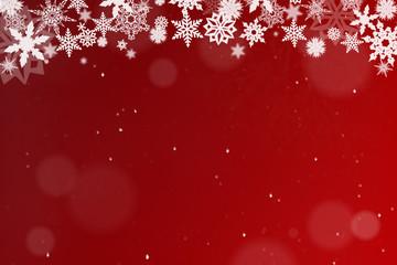 Wintermotiv als Hintergrund zu Weihnachten