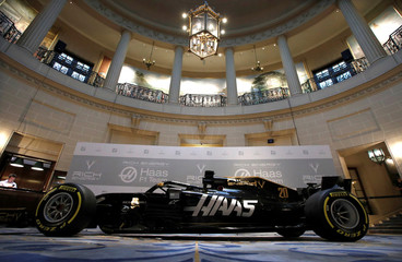 Haas Formula One Team Livery Launch