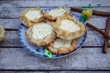 Greek easter cheese pies calicouna