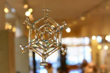 雪の結晶 ガラス 飾り 冬
