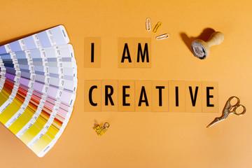 Texto yo soy creativo