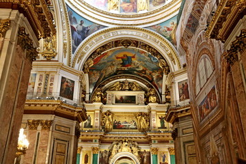 St.Petersburg cathedrals and churches of Russia