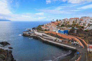 Santa Cruz de Tenerife, Puerto de Santiago coast view at winter time
