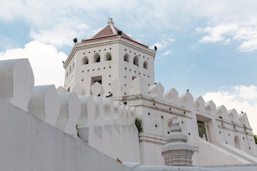 fortification of Phra Sumen Fort, Bangkok, Thailand, Asia