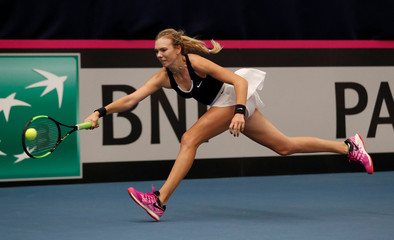 Fed Cup - Europe/Africa Group I - Pool A - Great Britain v Greece
