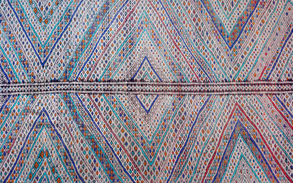Abstract moroccan carpet background