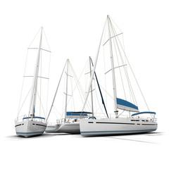 Sailboats and sketches