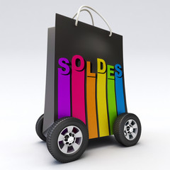 Soldes on wheels