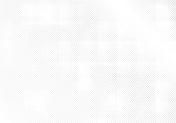 Modern halftone white and grey background. Design decoration concept for web layout, poster, banner.