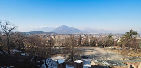 Mount Musine seen from Rivoli