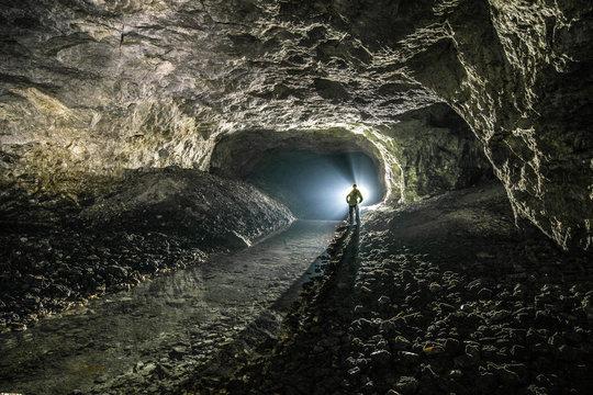 Underground mines. Ukraine, Donetsk