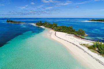 Munjack Cay Beach Aerial