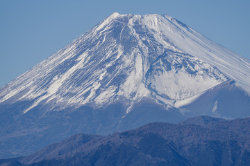 Close up View of the Mt.Fuji and Its Mouse and Lip in Japan