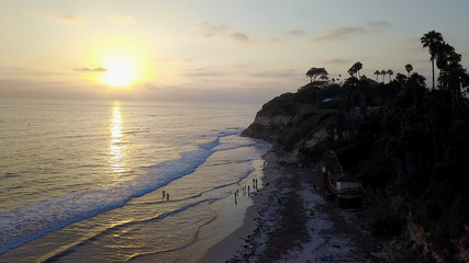 Ocean and Beach Scenes Encinitas California
