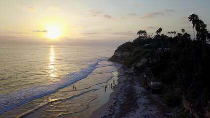 Ocean and Beach Scenes Encinitas California