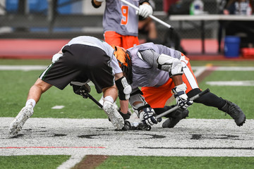 Young athletes making amazing plays while playing Lacrosse