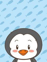 cute little penguin character