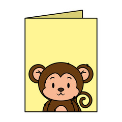 cute little monkey character
