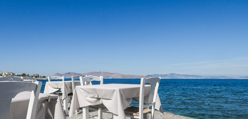 The perfect lunch with a sea view